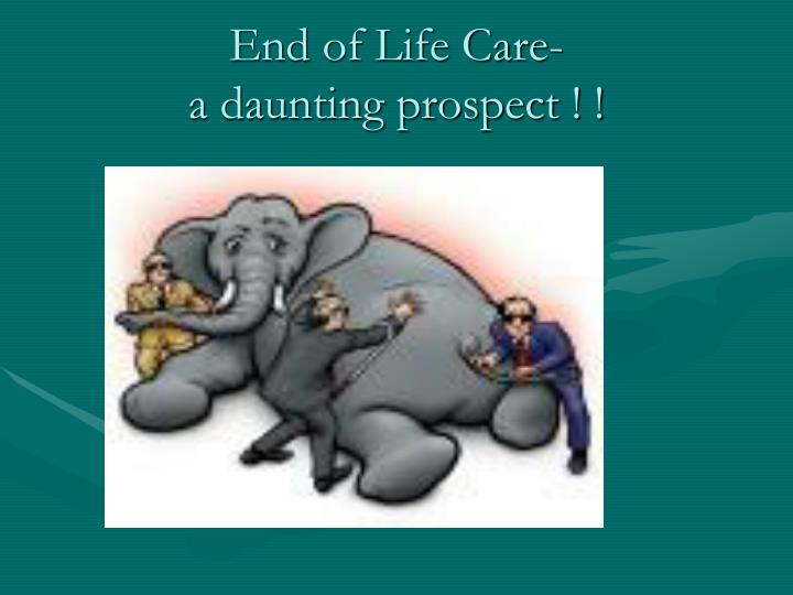 End of Life Care-