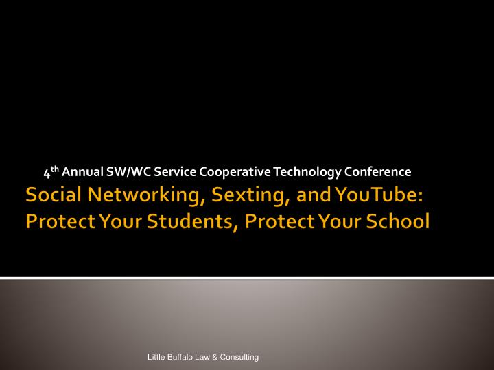 4 th annual sw wc service cooperative technology conference