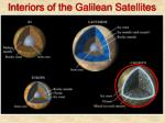 interiors of the galilean satellites