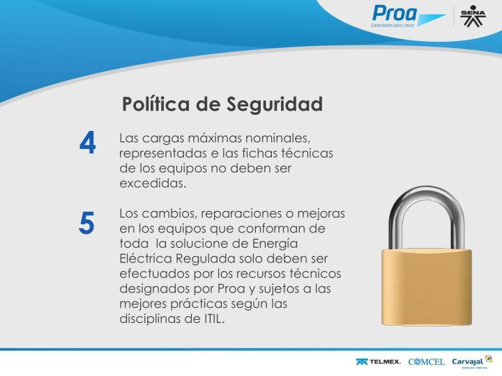 Política de Seguridad II