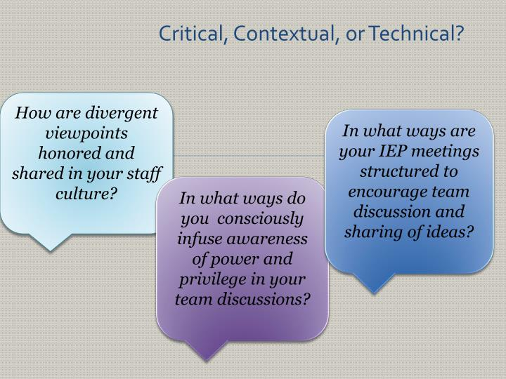 How are divergent viewpoints honored and shared in your staff culture?
