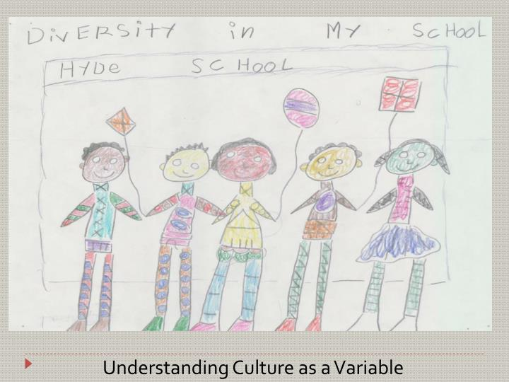 Understanding Culture as a Variable