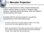 1 mercator projection
