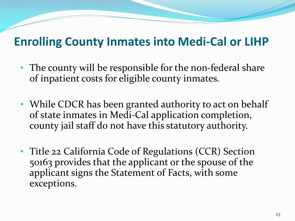PPT - Welcome to Inmate Eligibility Overview PowerPoint