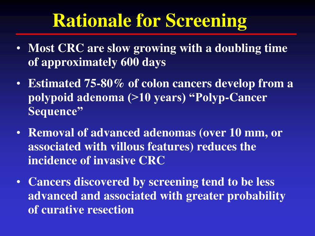 Ppt Optimizimg Colorectal Cancer Screening And Surveillance Powerpoint Presentation Id 1873757