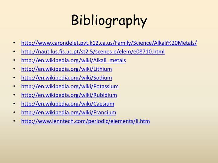Ppt alkali metals powerpoint presentation id1873765 httpcarondeletpvtk12familysciencealkali20metals urtaz Images