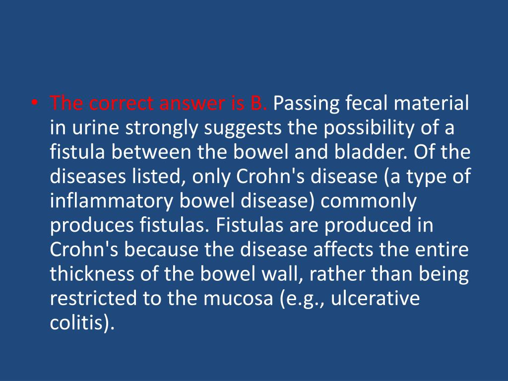 PPT - Colonoscopy demonstrates inflammation limited to the ...