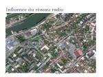 influence du r seau radio