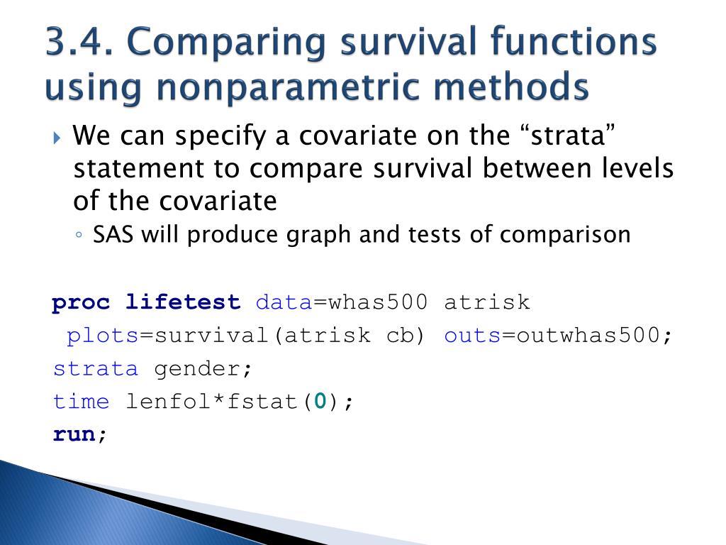 PPT - Survival Analysis in SAS PowerPoint Presentation - ID