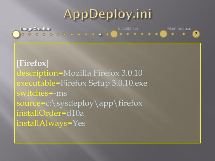 AppDeploy.ini