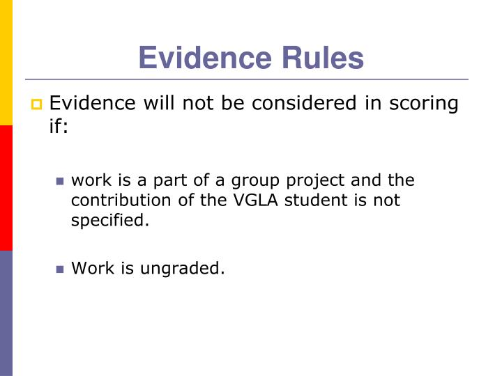 Evidence Rules