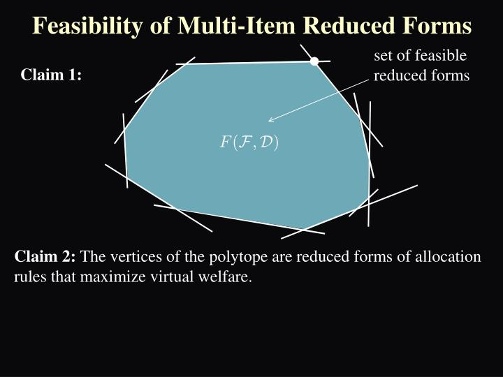 Feasibility of