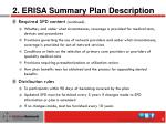 2 erisa summary plan description1