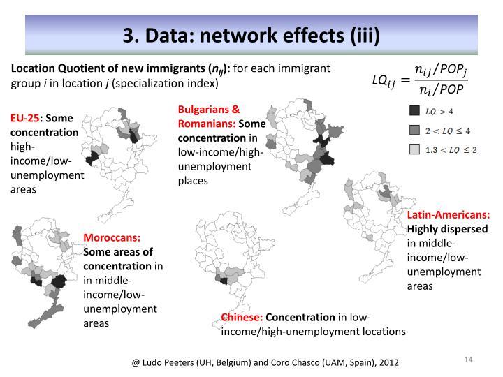3. Data: network effects (