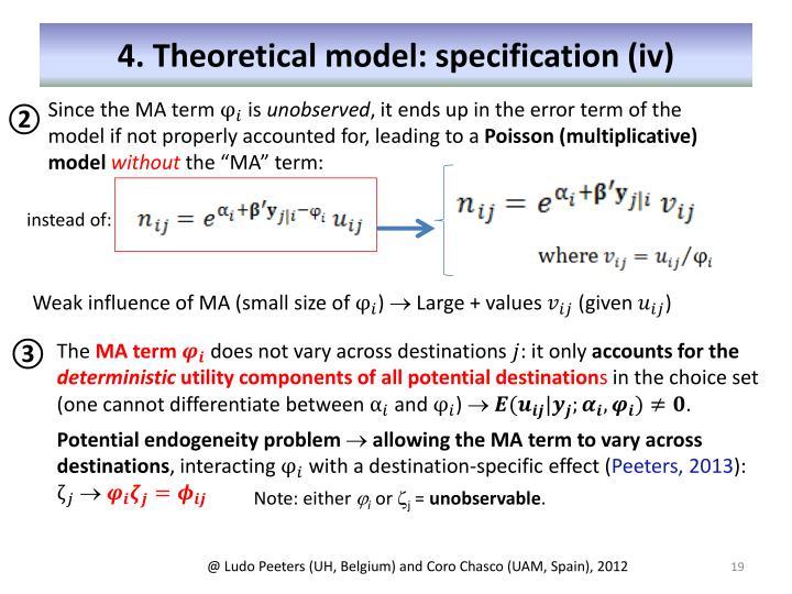 4. Theoretical