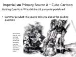 imperialism primary source a cuba cartoon