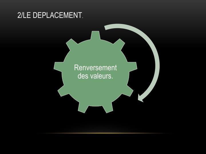 2/LE DEPLACEMENT