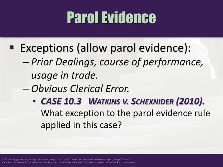 evidence rule essay The exclusionary rule essay - in order for the rights searches and seizures was to adopt a rule that evidence seized in violation of the fourth.