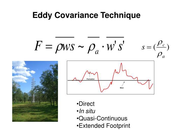 Eddy Covariance Technique
