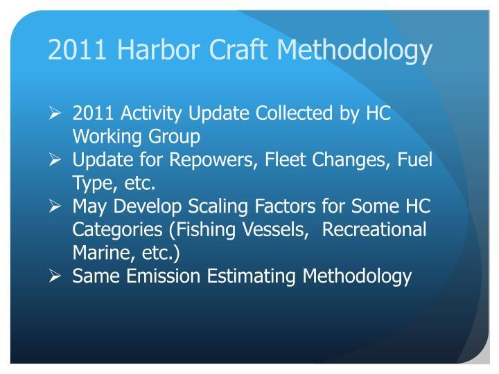 2011 Harbor Craft Methodology