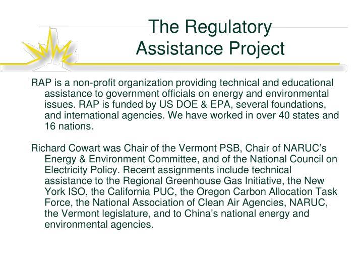 The Regulatory