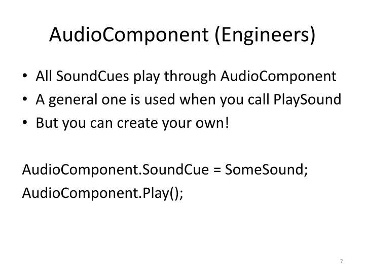 PPT - Unreal Audio PowerPoint Presentation - ID:1875471