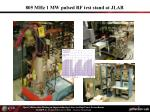 805 mhz 1 mw pulsed rf test stand at jlab