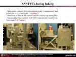sns fpcs during baking