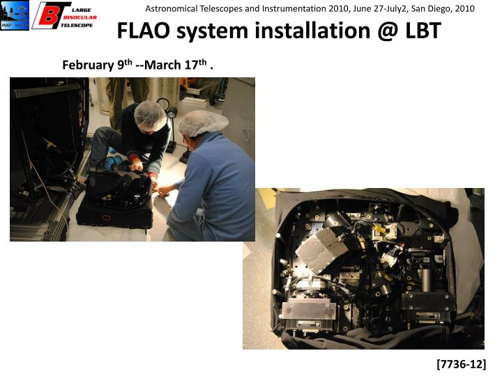 FLAO system