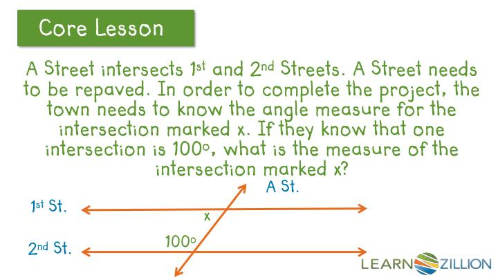 A Street intersects 1