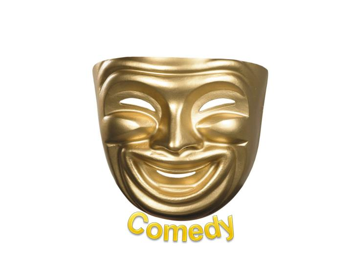 theatrical comedy n.