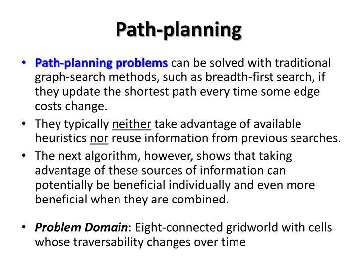 Path-planning