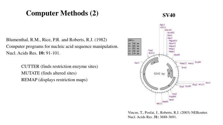 Computer Methods (2)