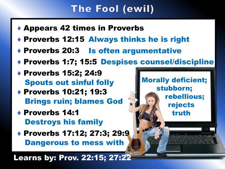 The Fool (ewil)