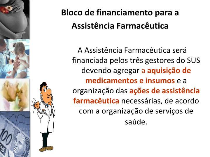 Bloco de financiamento para a Assistência Farmacêutica