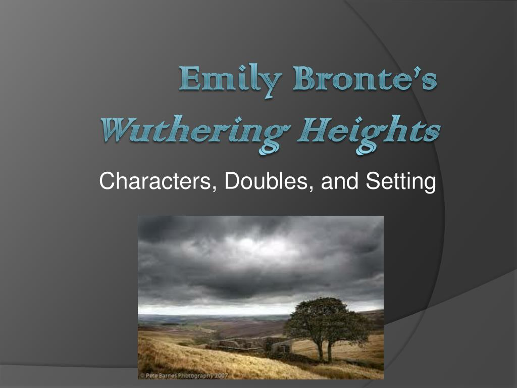 wuthering heights setting
