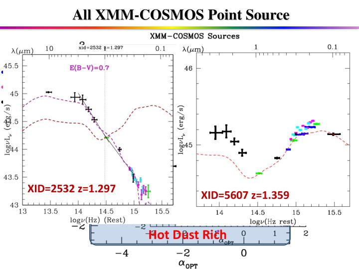 All XMM-COSMOS Point Source