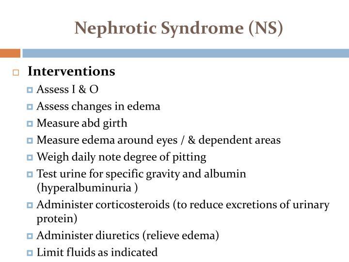 Nephrotic
