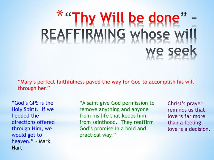 """""""Mary's perfect faithfulness paved the way for God to accomplish his will through her."""""""