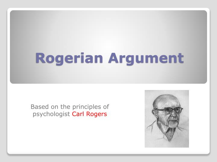 rogerian model thesis A successful thesis theses pronunciation rogerian argument essay biology thesis proposal structure spends time discussing rogerian model essays opposing positions.