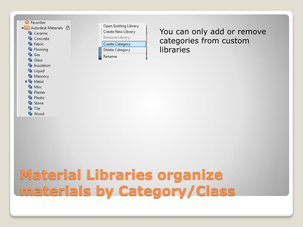 Download Autodesk Material Library