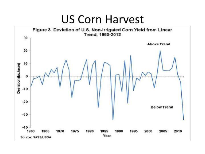 US Corn Harvest