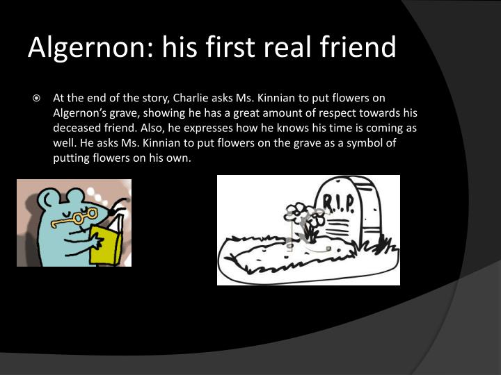 Algernon: his first real friend