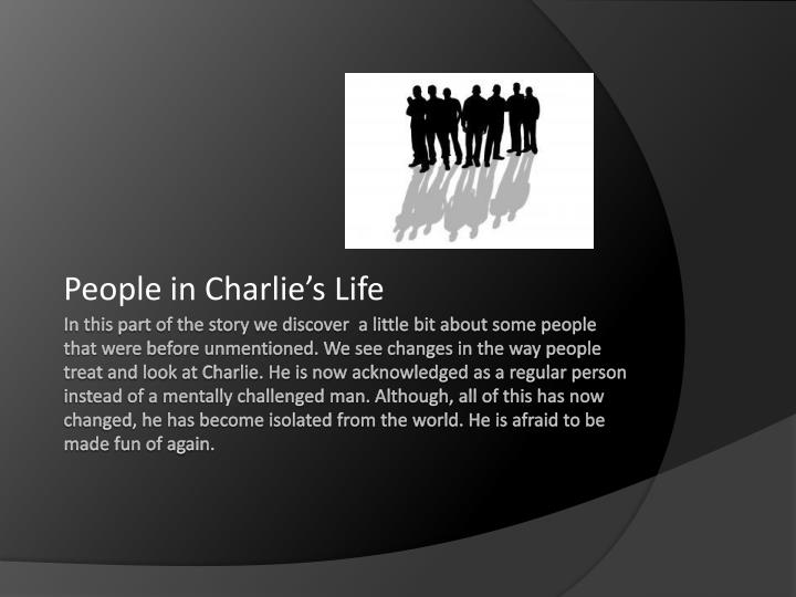 People in Charlie's Life