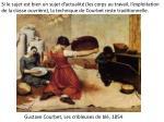 gustave courbet les cribleuses de bl 1854