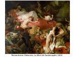 romantisme delacroix la mort de sardanapale 1834