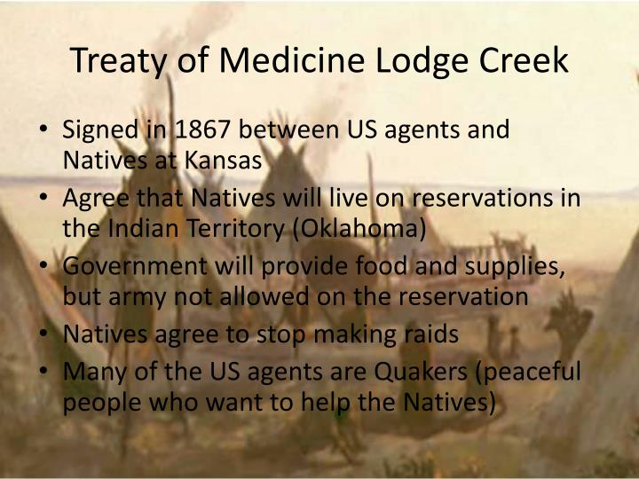 Treaty of Medicine Lodge Creek