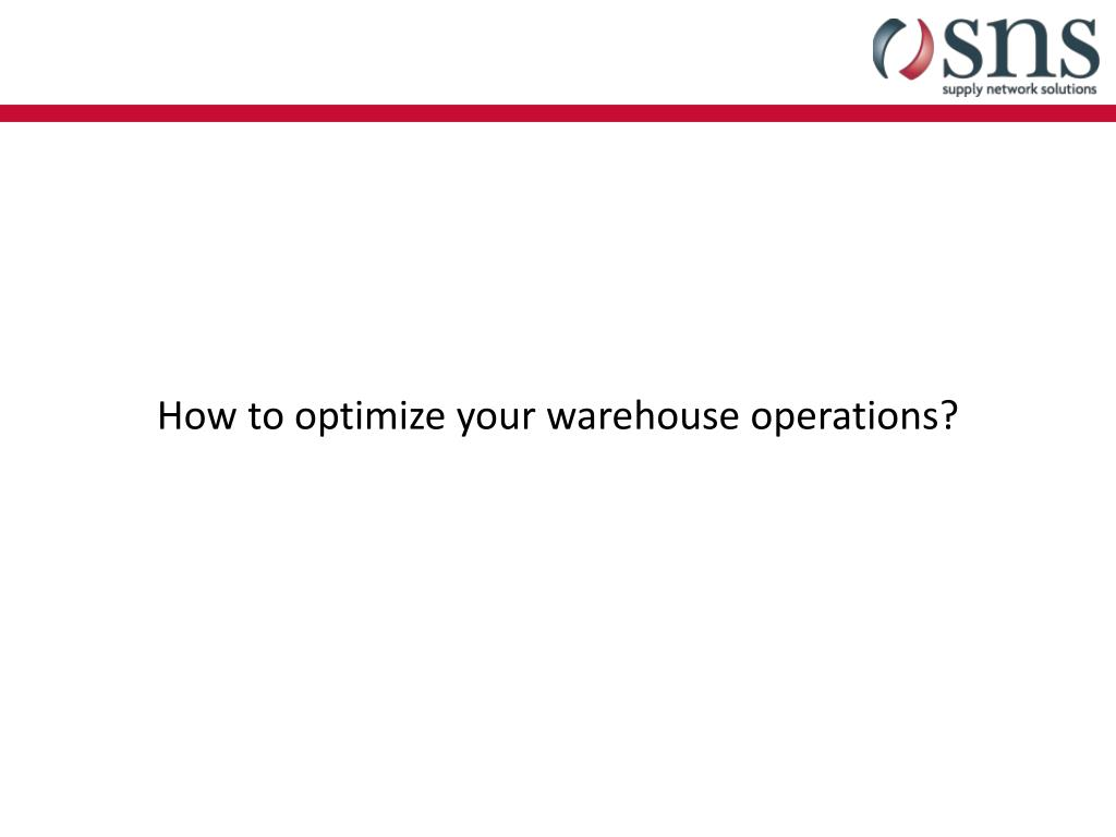 PPT - A State-of-the-Art Warehouse PowerPoint Presentation - ID:1878038