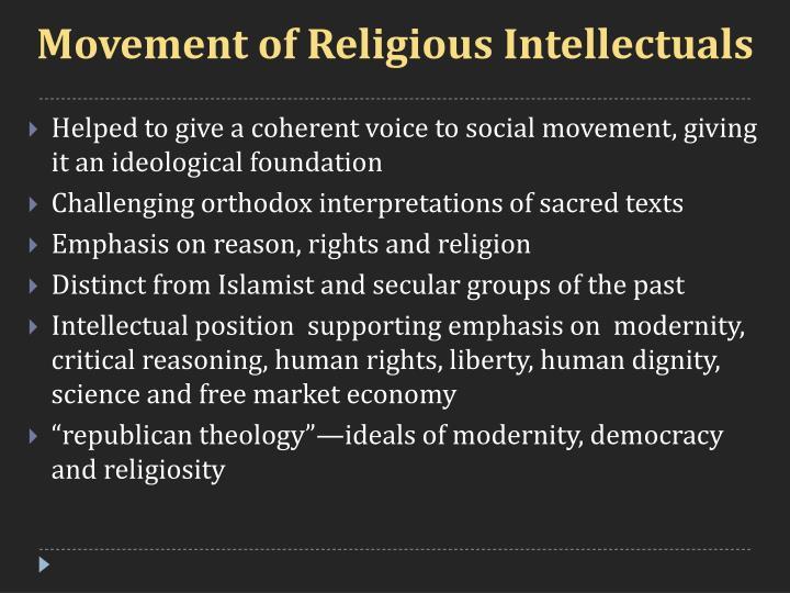 Movement of Religious Intellectuals