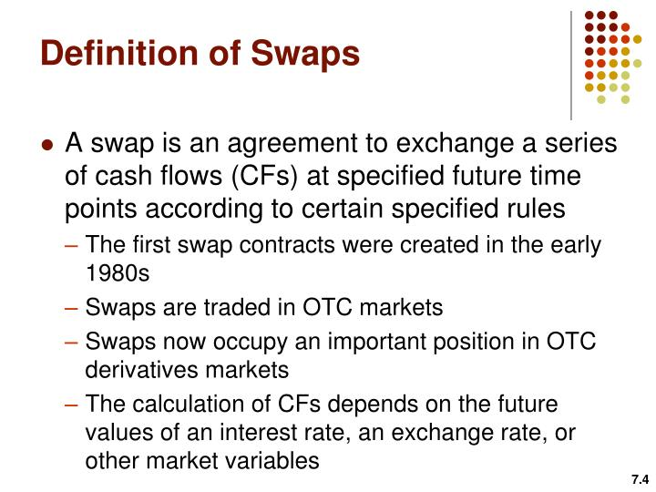Definition of Swaps